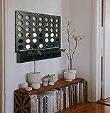 Tubibu Wall Games, Unique Wall Decor, Extraordinary Gift, Wall Decor, Wall Art, Wall Game Board, Office Wall Art, Housewarming Gift (Connect Four)
