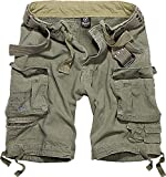 Brandit Hombre Savage Vintage Shorts - Oliva, M
