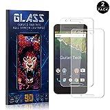 Bear Village® Protector de Pantalla Huawei Nexus 6P, 9H Cristal Templado, Anti-Golpe, Transparente Protector de Pantalla para Huawei Nexus 6P, 2 Piezas