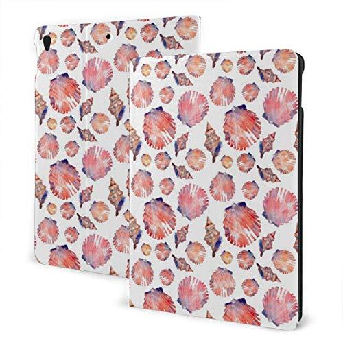 liukaidsfs Seashells Shells Summer Beach Cute Slim Lightweight Smart Shell Stand Cover Case for iPad Air3 & pro (10.5-Inch,Auto Wake/Sleep)