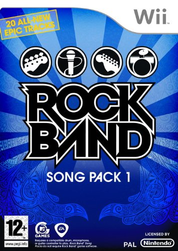 Rock Band Song Pack 1 (Wii) [Importación inglesa]