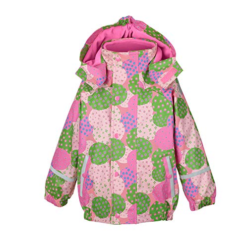 Sterntaler Sterntaler Mädchen Regenjacke mit Innenjacke, 3in1 Multifunktionsjacke, Alter: 6-9 Monate, Größe: 74, Rosa (Hortensie)
