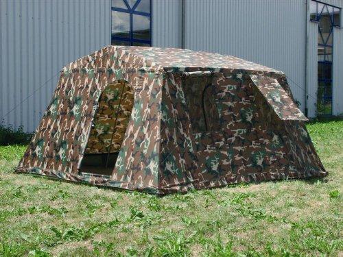 Mil-Tec - Tenda Militare A 6 Posti, Motivo Woodland