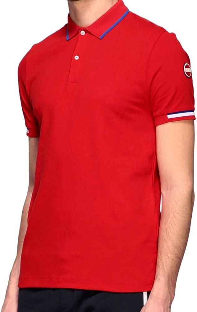 Colmar  monday polo,maglietta per uomo a maniche corte,96% cotone, 4% elastan  7658z 4sh 193R