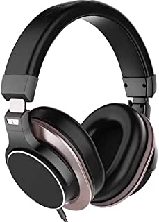Noise Cancelling Headphones, Wired Headphones, Hi-Fi Stereo Noise Cancelling Headset, with Monitoring And Mixing, Portable Studio Headphones, for Travel Work TV PC Cellphone