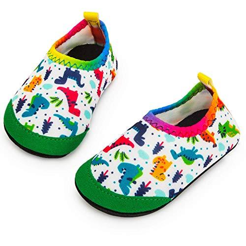Yorgou Chaussures Aquatiques Enfants Chaussures d eau Bébé Séchage Rapide Chaussures Aqua pour Piscine Plage Garçons Filles