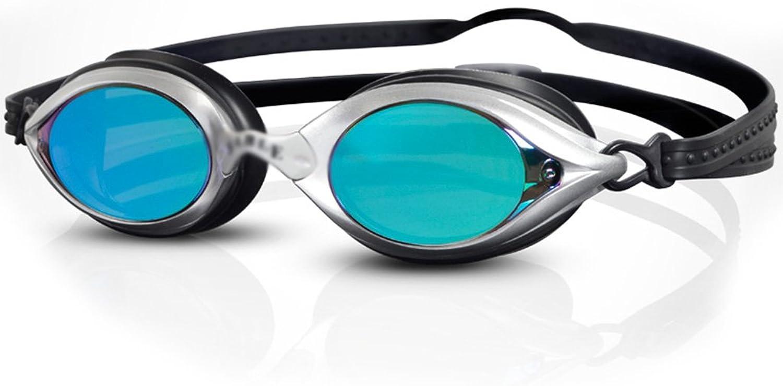 Anti-Fog Schwimmbrille, wasserdicht Galvanik High-Definition, Schwimmen Objektiv, verstellbare Komfort Silikon-Stirnbnder geeignet für Freizeit Fitness Erwachsene, Unisex ZHOU LI