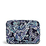 Vera Bradley Women's Vera Bradley Women s Signature Cotton Laptop Organizer Laptop Organizer Deep Night Paisley One Siz, Deep Night Paisley, One Size US