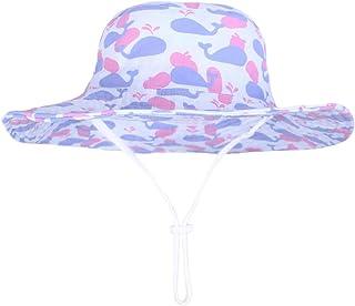 i viaggi pieghevole per l/'estate anti-UV unisex motivo: delfino colore: blu 100/% cotone Cappello da sole da bambino Syrosa da spiaggia