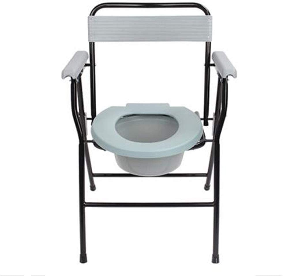 CHLDDHC Household Commode Chair Removable Max 85% OFF Belt Safety Folding Bu Popularity