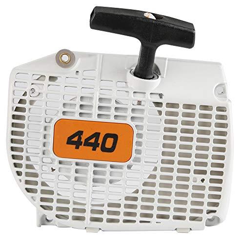 NITRIP リコイルスターター汎用エンジン 草芝刈り機用 Stihl 044 046 MS440 MS460チェーンソーに