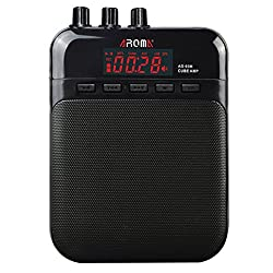 in budget affordable AROMA Mini 5W Portable Guitar Amplifier / Recorder / Speaker with USB Charging Cable