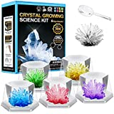 AoHu Crystal Growing Kit for Kids - 6 Vibrant Colored Crystal with...