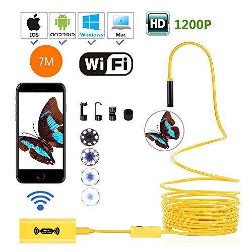 WiFi Endoscope Camera, 10M Wireless...