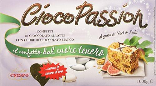 Crispo Confetti Cioco Passion Noci e Fichi - Colore Bianco - 1 kg