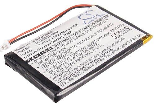 TECHTEK batería sustituye 010-00538-78, para 361-00019-02, para 361-00019-06, para IA2B309C4B32 Compatible con [Garmin] Nuvi 300, Nuvi 300T, Nuvi 310, Nuvi 310D, Nuvi 310T, Nuvi 350, Nuvi 350T, Nuvi