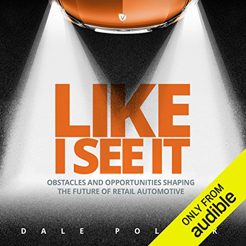 Like I See It audiobook cover art