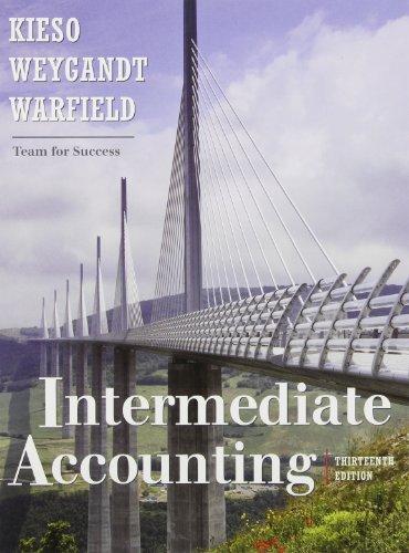 Intermediate Accounting w/ Wiley Plus