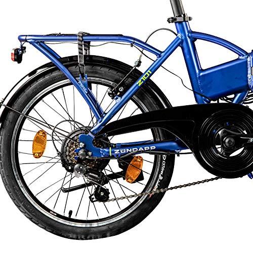 Zündapp Z101 Faltrad E-Bike 20 Zoll Klapprad Bild 5*