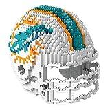 Miami Dolphins NFL Football Team 3D BRXLZ Helm Helmet Puzzle