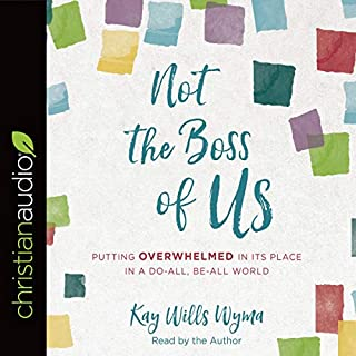 Not the Boss of Us audiobook cover art