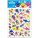 Pinkfong Baby Shark Soft Stickers 43 Piece -11x8.6 inch