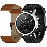 Fossil Men's 42mm Collider Stainless Steel and...