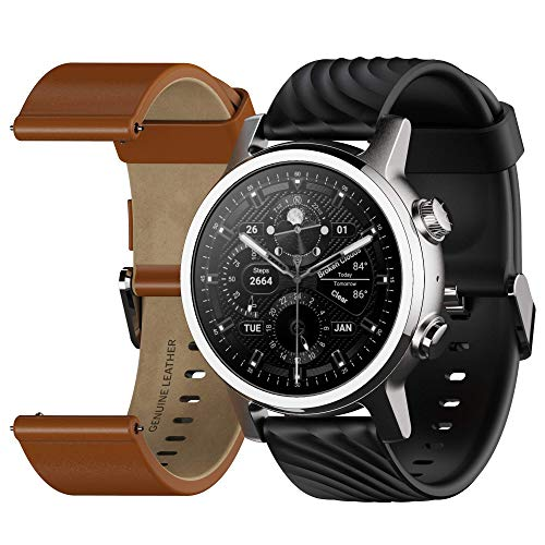 Moto 360 3rd Gen 2020 - Wear OS by Google - The Luxury Stainless Steel...