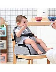 Babify 2-i-1 resebarnstol med förvaring, mjuk grå