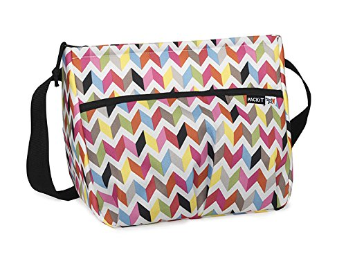 PackIt Freezable Carryall Lunch Bag, Ziggy
