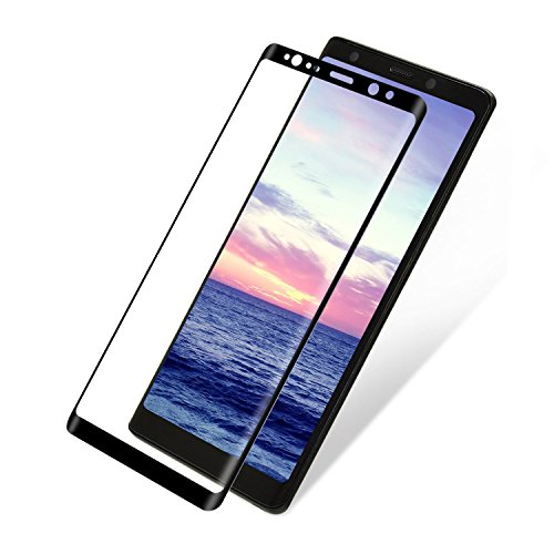 Galaxy NOTE 8 Screen Protector Galaxy NOTE 8 Screen Tempered Glass HD Clear Protective Film, ARCTIC Tempered Glass 3D Arc Face, 9H Hardness, [Case Friendly] [Full Coverage] For Samsung Galaxy NOTE 8