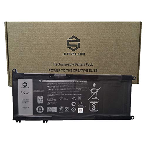 JIAZIJIA 33YDH Laptop Battery Compatible with Dell Inspiron 7577 7773 7778 7779 7786 G3 3579 3779 G5 5587 G7 7588 Latitude 3590 Vostro 7570 7580 Series PVHT1 99NF2 DNCWSCB6106B 15.2V 56Wh 3500mAh