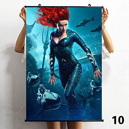 TS.13 Aquaman Wall Poster Pintura Decoración para El Hogar Impresión De Arte A Prueba De Agua
