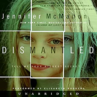 Dismantled audiobook cover art