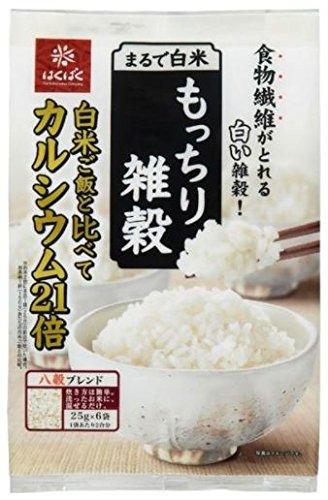 はくばく『まるで白米 もっちり雑穀』