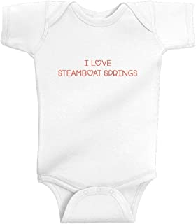 Unisex Baby I Love Steamboat Springs Bodysuit