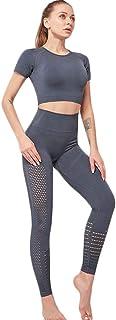 XFKLJ Sports Bra Yoga Pants Professional Fitness Sports Yoga Suit Female Breathable Tight Running Sports Set