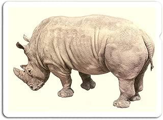 gordonstore Sticker Creature Animal Rhino in The Jungle Animals Fauna (3
