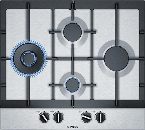 Siemens EC6A5IB90 piano cottura Grigio, Acciaio inossidabile Incasso Gas
