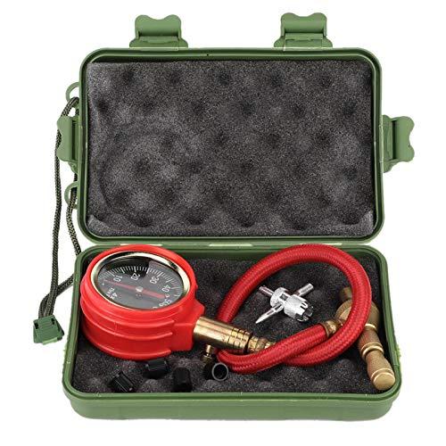 Zaraddia Medidor de presión de neumáticos, Auto portátil, neumático de Coche, medidor de presión de Aire, medidor de dial, probador de Alta precisión