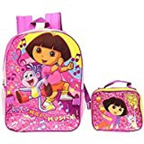 """Dora the Explorer """"Let's Make Música!"""" Backpack with Lunchbox"""
