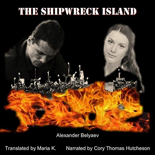 The Shipwreck Island audiobook cover art