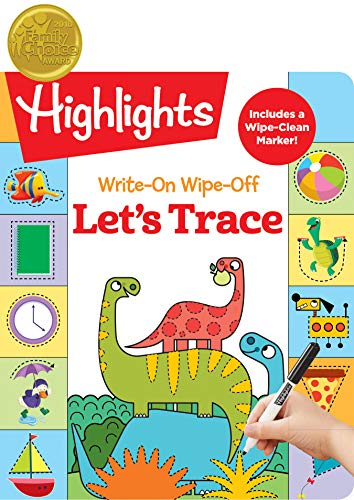 Write-On Wipe-Off Let s Trace (Highlights Write-On Wipe-Off Fun to Learn Activity Books)