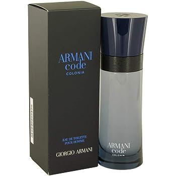 Giorgio Armani Code Colonia Eau de Toilette Spray for Men, 2.5 Fl Oz