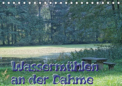 Wassermühlen an der Dahme (Tischkalender 2021 DIN A5 quer)
