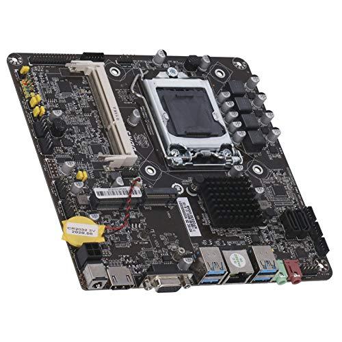 Placa base de PC H310, Tarjeta Madre de CPU LGA1151 pin 6/7/8 / 9.a generación (DDR3 1333/1600 MHz, PCIE, USB 2.0, USB 3.0, VGA, HDMI, RJ-45, ranura SSD M.2, LVDS, INVERT, CR2032 ,ALTAVOZ, F_PANEL)