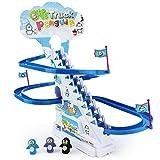 Boley Musical Penguin Roller Coaster - 11 Piece Set with...