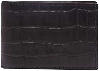 Fossil SL6326001 Men's Darcy RFID Money Clip Bifold - Black