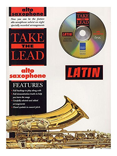 Take The Lead: Latin (Alto Saxophone). Partituras, CD para