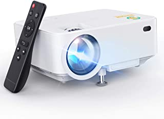 Mini Projector, 3Stone Upgraded Portable LCD Video Projector with 1080P Supported and Built-in Speakers, Multimedia Home T...